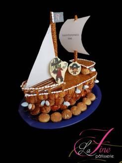 Piéce montée bateau